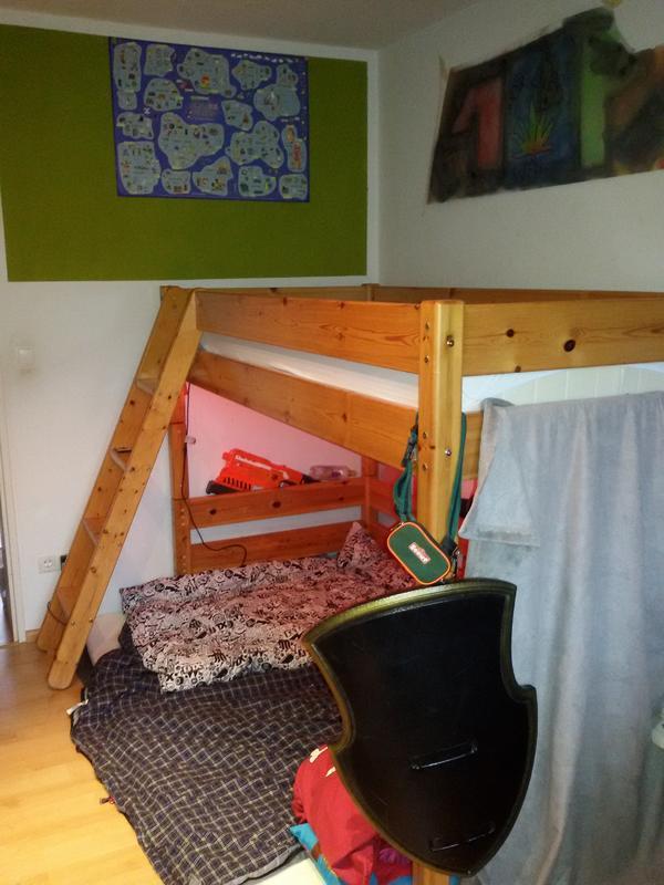 hochbett leiter gebraucht kaufen nur 2 st bis 70 g nstiger. Black Bedroom Furniture Sets. Home Design Ideas