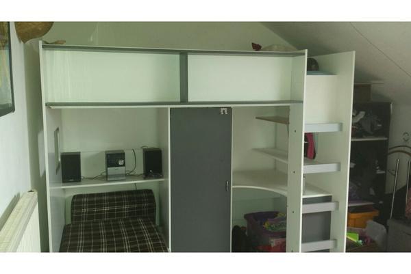 hochbett schrank neu und gebraucht kaufen bei. Black Bedroom Furniture Sets. Home Design Ideas