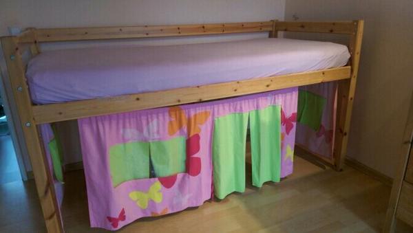 hochbett vorhang neu und gebraucht kaufen bei. Black Bedroom Furniture Sets. Home Design Ideas