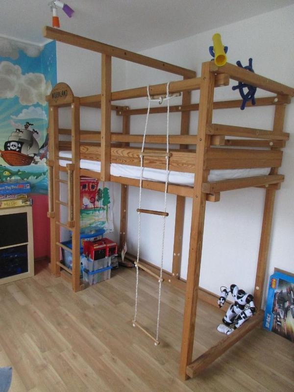 zum verkauf einen multifunktionales winnipeg hochbett mit verschiedenen aufbau optionen von. Black Bedroom Furniture Sets. Home Design Ideas