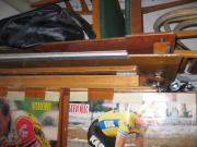 Holzboden für Schlauchboot
