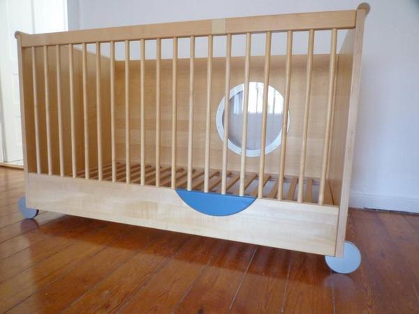 h lsta babybett kinderbett modell taff in heidelberg wiegen babybetten reisebetten kaufen. Black Bedroom Furniture Sets. Home Design Ideas