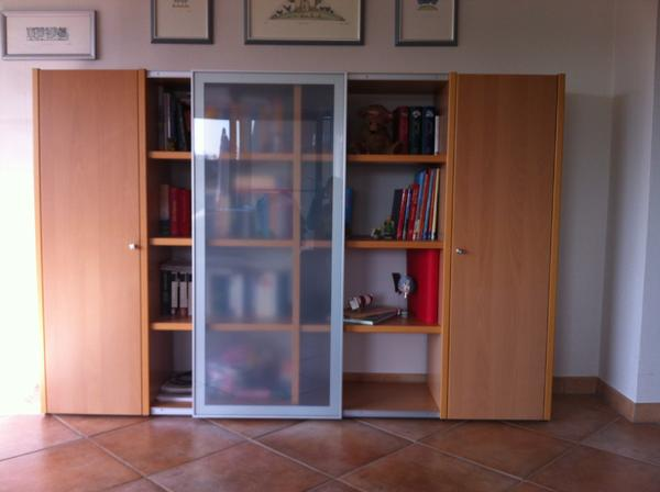 h lsta now no 1 wohnm bel buche echtholzfunier. Black Bedroom Furniture Sets. Home Design Ideas