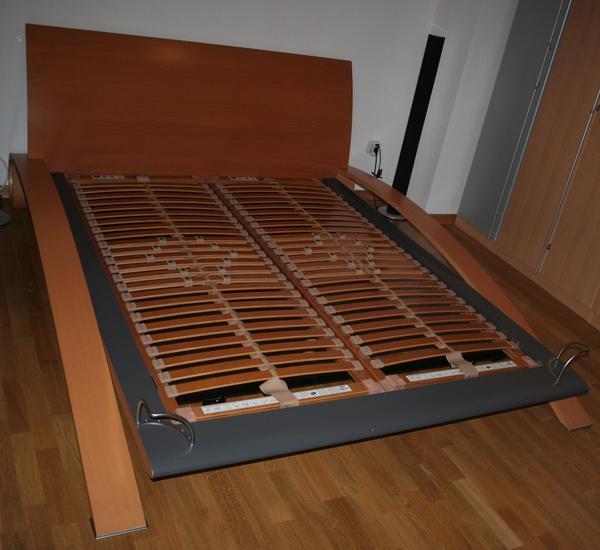 h lsta primo dc kufen designerbett 160 x 200 mit. Black Bedroom Furniture Sets. Home Design Ideas