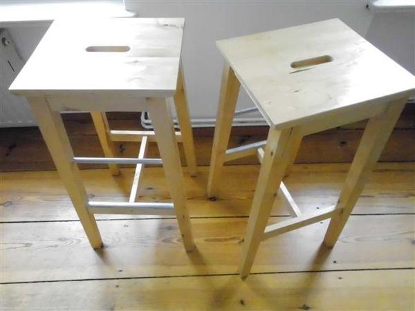 Ikea barhocker k chenstuhl bosse holz birke massiv in for Ikea barhocker