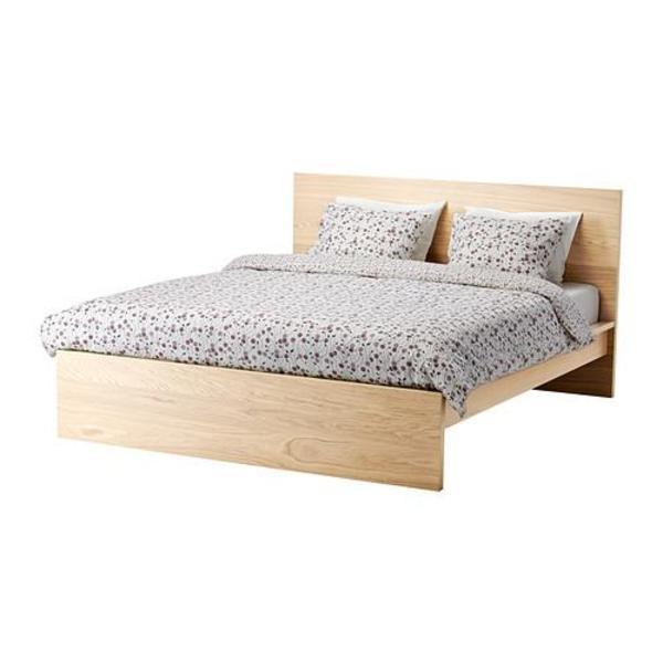 Ikea Schreibtisch Kombination ~ Apalis 93950 Möbelfolie für Ikea Malm Bett niedrig 180×200 cm  Erde