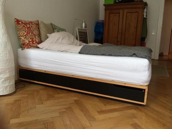 Aspelund Wardrobe Ikea Review ~ ikea bett mandal mit matratze guenstig das bett inklusive matratze
