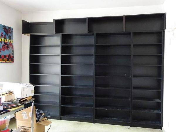 ikea billy bucherregal kaufen gebraucht und g nstig. Black Bedroom Furniture Sets. Home Design Ideas