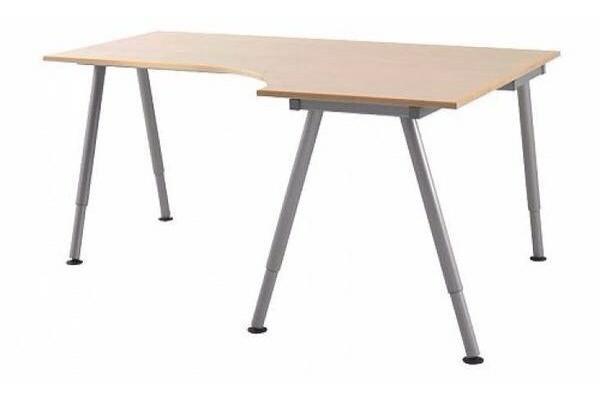 Ikea Pax Schrank Konfigurator ~ IKEA Eckschreibtisch inkl 2 Ansatzplatten und 2 Rollcontainern