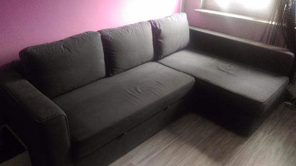 ikea ecksofa eckcouch couch sofa ausziehbar in mannheim polster sessel couch kaufen und. Black Bedroom Furniture Sets. Home Design Ideas