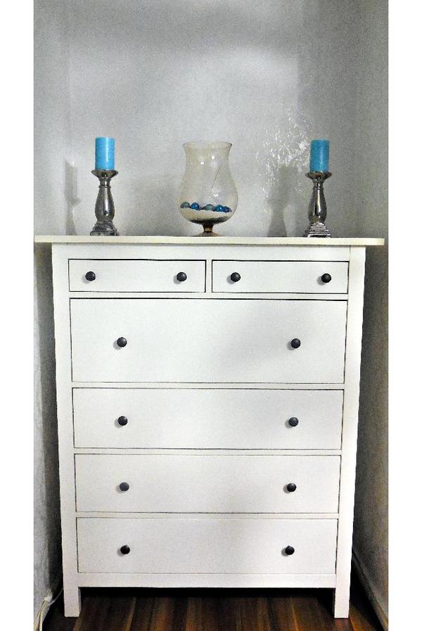 ikea hemnes kommode weiss 6 schubladen landhaus shabby chic in berlin ikea m bel kaufen und. Black Bedroom Furniture Sets. Home Design Ideas