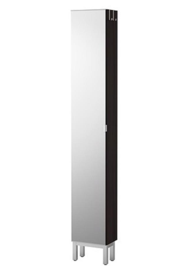 spiegelschrank lilangen 30x21x194 cm in schwarzbraun inkl fu leiste der schrank ist erst 1 jahr. Black Bedroom Furniture Sets. Home Design Ideas