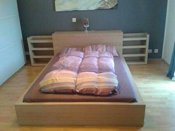 malm bett 140 gebraucht kaufen 2 st bis 65 g nstiger. Black Bedroom Furniture Sets. Home Design Ideas