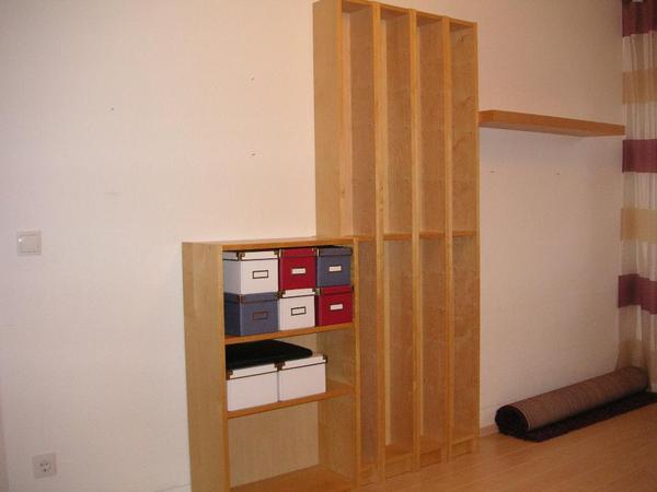 ikea regale 5x gnedby vorm benno 1x lack in speyer. Black Bedroom Furniture Sets. Home Design Ideas