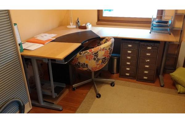 schreibtisch ikea kleinanzeigen. Black Bedroom Furniture Sets. Home Design Ideas