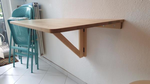 wandklapptisch kaufen gebraucht und g nstig. Black Bedroom Furniture Sets. Home Design Ideas