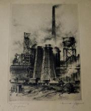 Industrielandschaften Großofen, Stahlwerk
