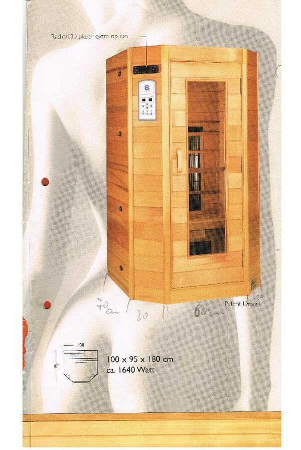 infrarote w rmekabine sauna von sebastian in m nchen sauna solarium und zubeh r kaufen und. Black Bedroom Furniture Sets. Home Design Ideas