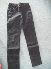 Jeans schwarz Gr.