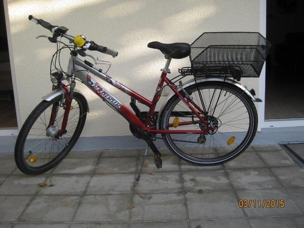 jugend fahrrad 26 zoll rot in augsburg jugend fahrr der kaufen und verkaufen ber private. Black Bedroom Furniture Sets. Home Design Ideas