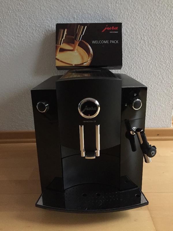 jura impressa c5 schwarz kaffeemaschine espressomaschine  ~ Kaffeemaschine Jura Gebraucht
