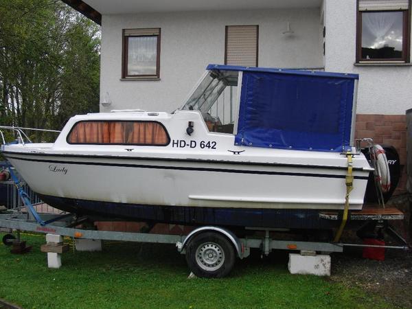 kaj tboot waterland 650 mit trailer in epfenbach. Black Bedroom Furniture Sets. Home Design Ideas