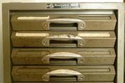 Kardex Metall Schubladenschrank