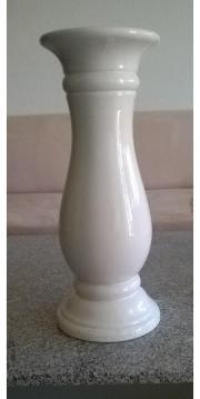 Keramiksäule weiß