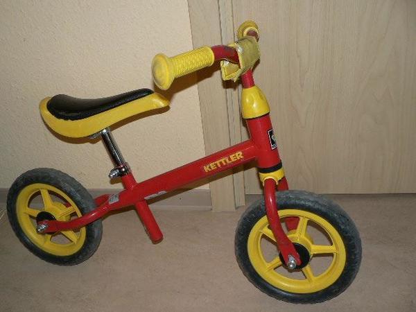 """Gebraucht, KETTLER Laufrad Speedy, rot, gebraucht 10"""" Zoll gebraucht kaufen  70435 Stuttgart"""