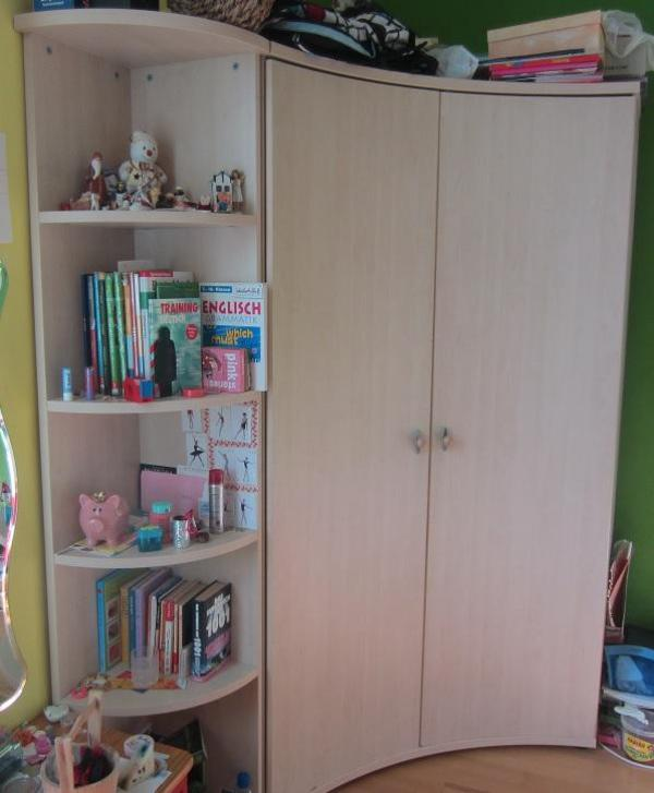 kinderzimmer eckschrank eckregal von pep bambino model pia. Black Bedroom Furniture Sets. Home Design Ideas