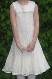 Kleid Erstkommunion weiß/