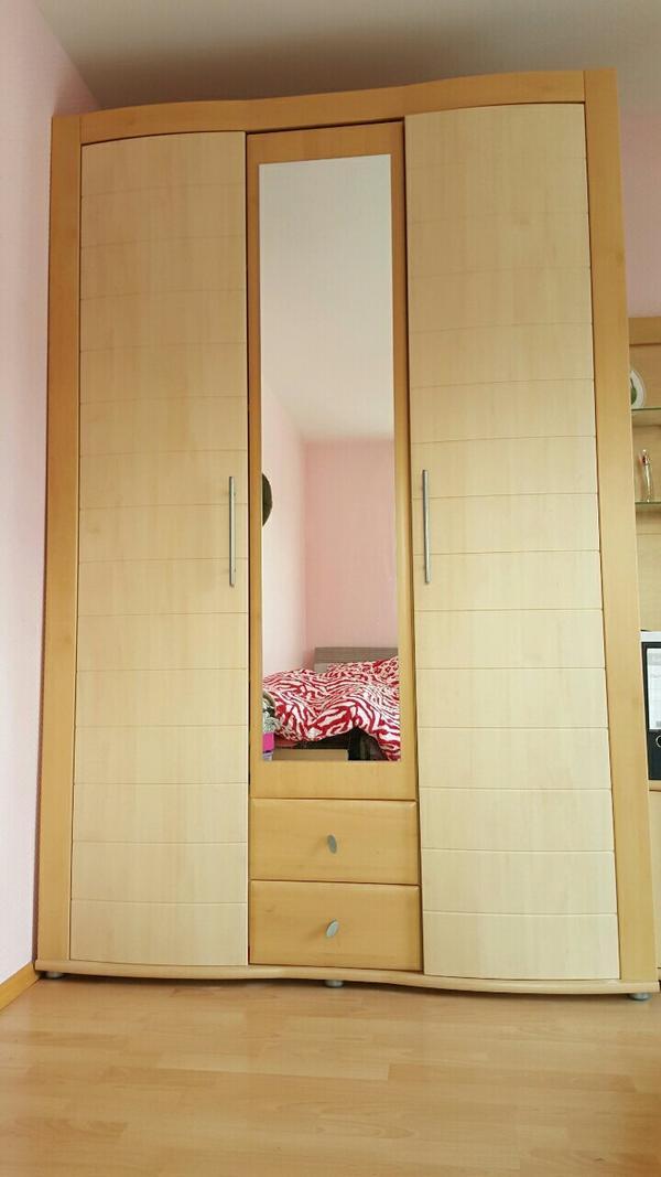 mit spiegel inklusive einlegeb den und 2 schubladen wandschrank mit. Black Bedroom Furniture Sets. Home Design Ideas