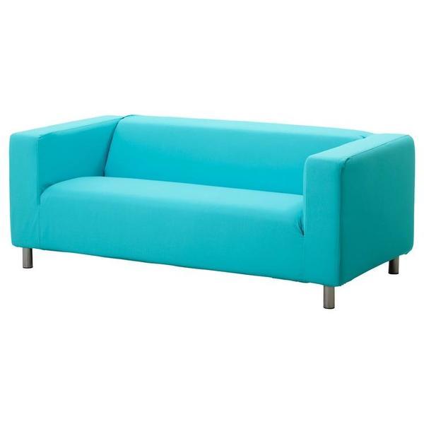 klippan 2er sofa t rkis in m nchen ikea m bel kaufen und verkaufen ber private kleinanzeigen. Black Bedroom Furniture Sets. Home Design Ideas