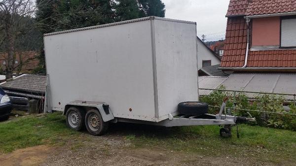 kofferanh nger brenderup in gernsbach anh nger auflieger kaufen und verkaufen ber private. Black Bedroom Furniture Sets. Home Design Ideas