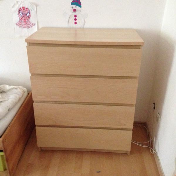 Ikea malm kommode kaufen gebraucht und g nstig for Kommode von ikea