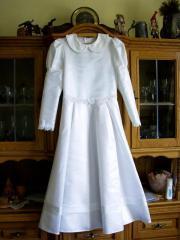 Kommunion-Brautjunferkleid Gr.