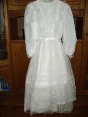 Kommunion-Kleid, Gr.