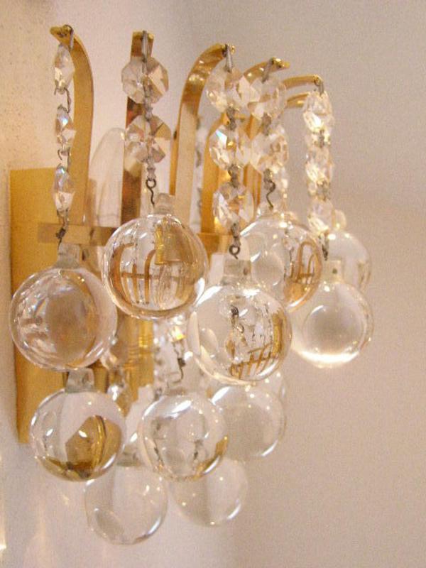 kristall wandleuchter in herrsching lampen kaufen und verkaufen ber private kleinanzeigen. Black Bedroom Furniture Sets. Home Design Ideas