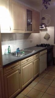 Küche in Kiefernholz-