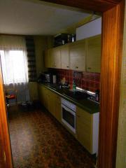Küche, Schrank, Tisch,