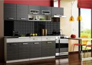Küchenzeile Moreno BLACK