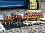 Kutsche Pferde Brauwagen