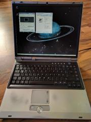 Laptop Intel Pentium M 2,13 GHz Intel Pentium M mit 2,13 GHz 1 GB RAM mit 768 MHz 80 GB HDD (wird formatiert) ATI Mobility Radeon ... 50,- D-66904Brücken Heute, 15:54 Uhr, Brücken - Laptop Intel Pentium M 2,13 GHz Intel Pentium M mit 2,13 GHz 1 GB RAM mit 768 MHz 80 GB HDD (wird formatiert) ATI Mobility Radeon