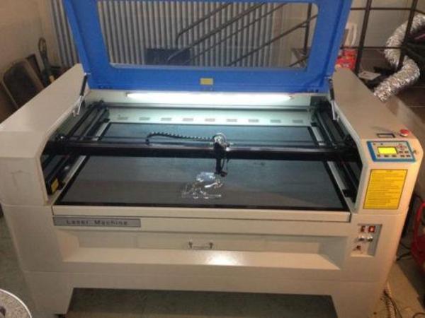 laser c02 100w cnc laserschneiden jq1390 in neustadt produktionsmaschinen kaufen und. Black Bedroom Furniture Sets. Home Design Ideas