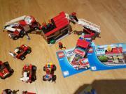 Lego Feuerwehrstation mit