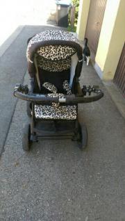 Leoparden Kombi kinderwagen