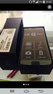 LG G FLEX!