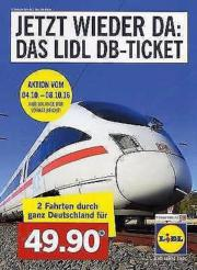 Lidl Bahnticket 2