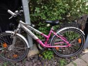 Mädchen Fahrrad 24