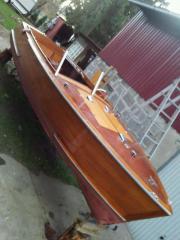 Mahagoni Motorboot Variant